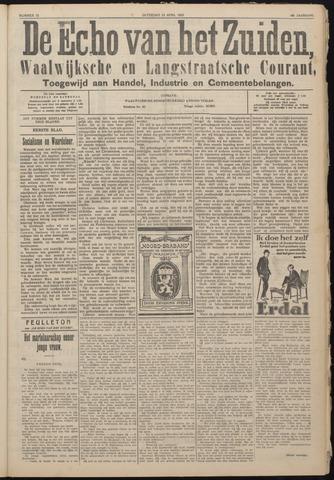 Echo van het Zuiden 1925-04-18