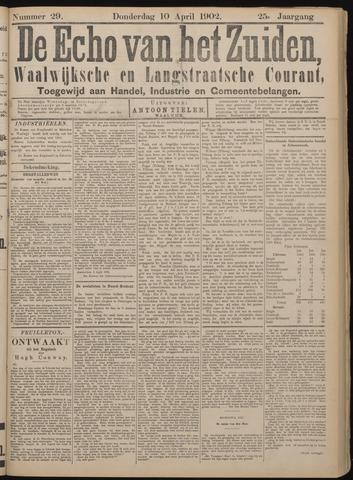 Echo van het Zuiden 1902-04-10