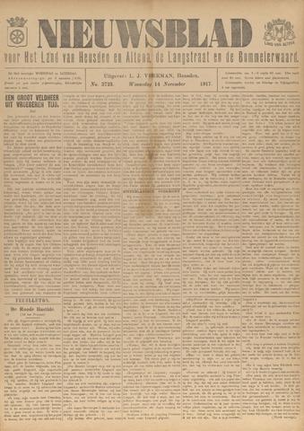 Nieuwsblad het land van Heusden en Altena de Langstraat en de Bommelerwaard 1917-11-14