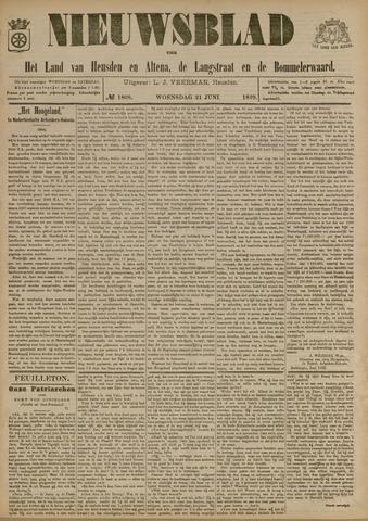 Nieuwsblad het land van Heusden en Altena de Langstraat en de Bommelerwaard 1899-06-21
