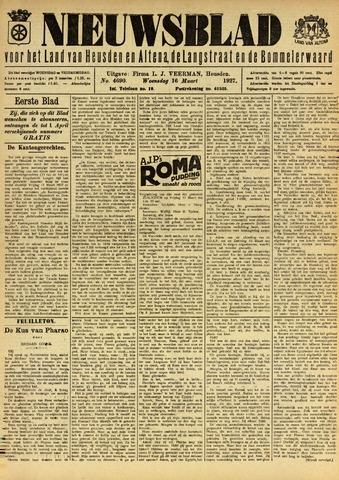 Nieuwsblad het land van Heusden en Altena de Langstraat en de Bommelerwaard 1927-03-16