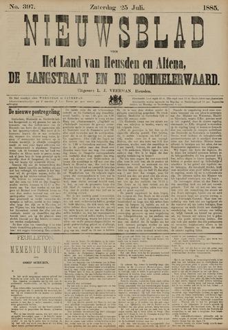Nieuwsblad het land van Heusden en Altena de Langstraat en de Bommelerwaard 1885-07-25