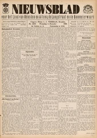 Nieuwsblad het land van Heusden en Altena de Langstraat en de Bommelerwaard 1925-11-04