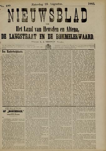 Nieuwsblad het land van Heusden en Altena de Langstraat en de Bommelerwaard 1883-08-25
