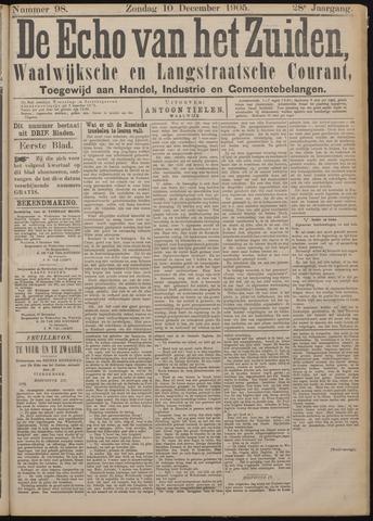 Echo van het Zuiden 1905-12-10