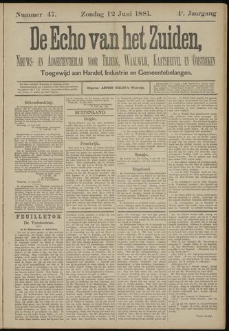Echo van het Zuiden 1881-06-12