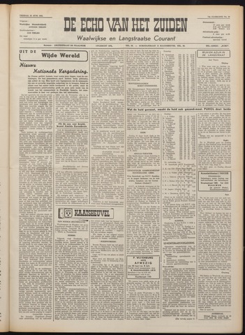 Echo van het Zuiden 1951-06-22