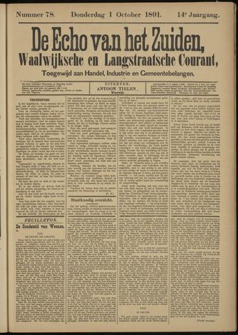 Echo van het Zuiden 1891-10-01