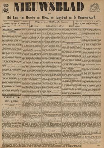 Nieuwsblad het land van Heusden en Altena de Langstraat en de Bommelerwaard 1901-07-20