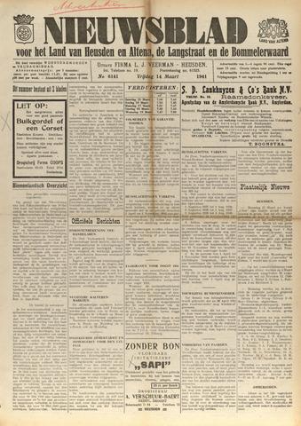 Nieuwsblad het land van Heusden en Altena de Langstraat en de Bommelerwaard 1941-03-14