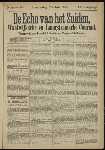 Echo van het Zuiden 1894-07-26