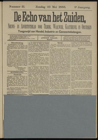 Echo van het Zuiden 1886-05-23