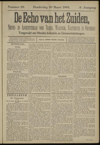Echo van het Zuiden 1881-03-10