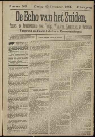 Echo van het Zuiden 1881-12-25