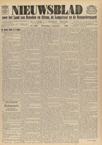 Nieuwsblad het land van Heusden en Altena de Langstraat en de Bommelerwaard 1932-08-03