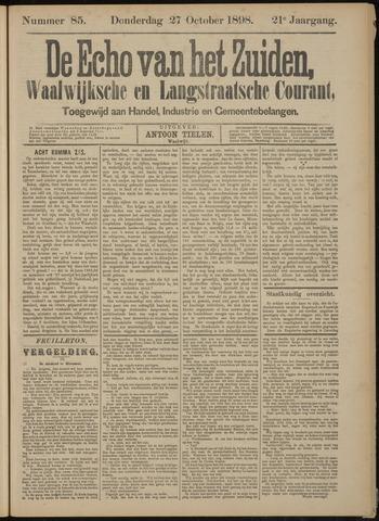 Echo van het Zuiden 1898-10-27
