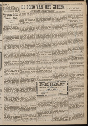 Echo van het Zuiden 1920-02-14