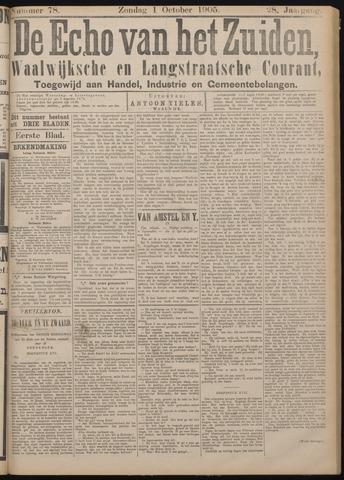 Echo van het Zuiden 1905-10-01