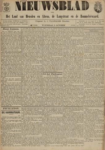 Nieuwsblad het land van Heusden en Altena de Langstraat en de Bommelerwaard 1892-10-05
