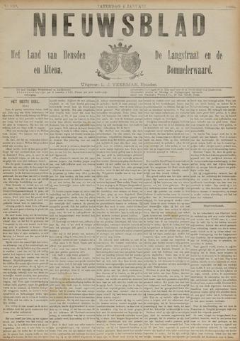 Nieuwsblad het land van Heusden en Altena de Langstraat en de Bommelerwaard 1890-01-04