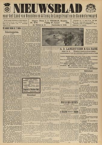 Nieuwsblad het land van Heusden en Altena de Langstraat en de Bommelerwaard 1928-01-20