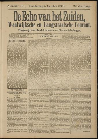 Echo van het Zuiden 1899-10-05