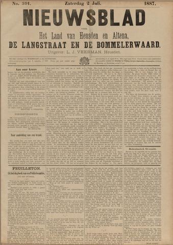 Nieuwsblad het land van Heusden en Altena de Langstraat en de Bommelerwaard 1887-07-02