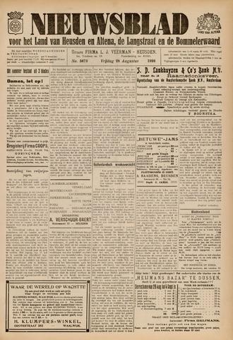 Nieuwsblad het land van Heusden en Altena de Langstraat en de Bommelerwaard 1936-08-28