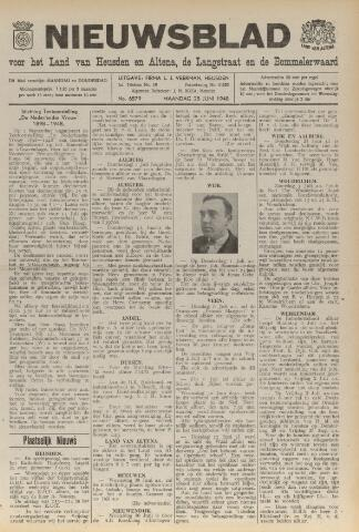 Nieuwsblad het land van Heusden en Altena de Langstraat en de Bommelerwaard 1948-06-28