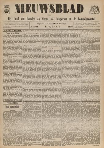 Nieuwsblad het land van Heusden en Altena de Langstraat en de Bommelerwaard 1906-04-28