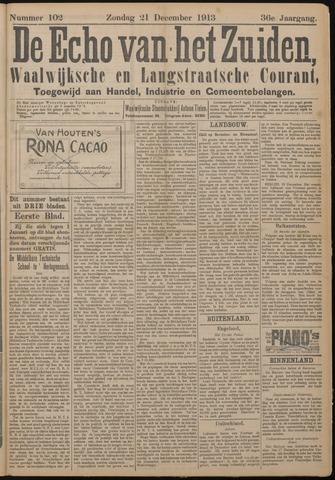 Echo van het Zuiden 1913-12-21