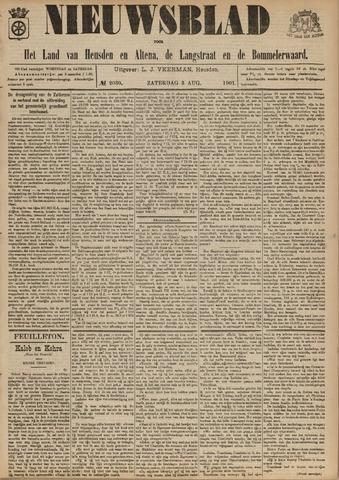 Nieuwsblad het land van Heusden en Altena de Langstraat en de Bommelerwaard 1901-08-03