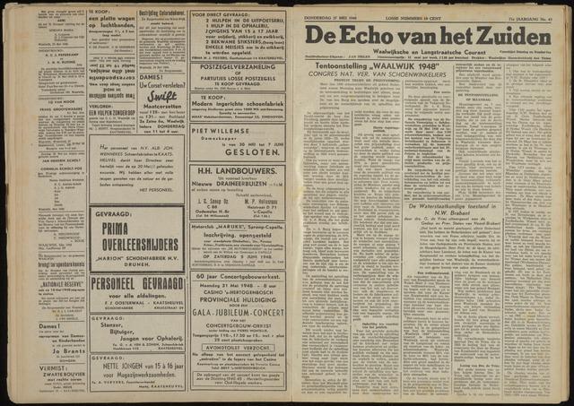 Echo van het Zuiden 1948-05-27