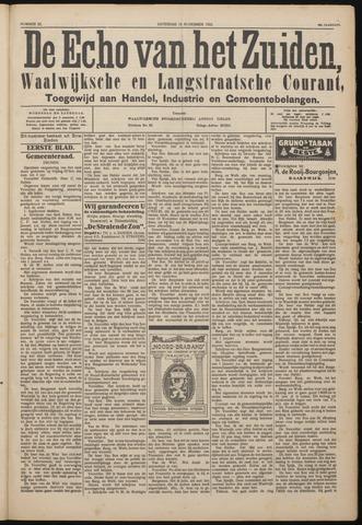 Echo van het Zuiden 1922-11-18