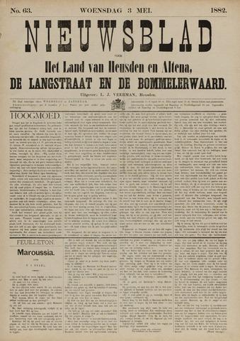 Nieuwsblad het land van Heusden en Altena de Langstraat en de Bommelerwaard 1882-05-03