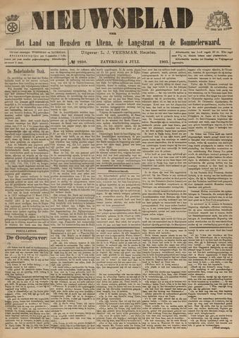 Nieuwsblad het land van Heusden en Altena de Langstraat en de Bommelerwaard 1903-07-04