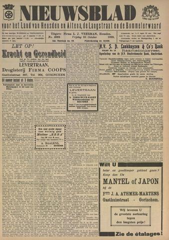Nieuwsblad het land van Heusden en Altena de Langstraat en de Bommelerwaard 1929-10-25