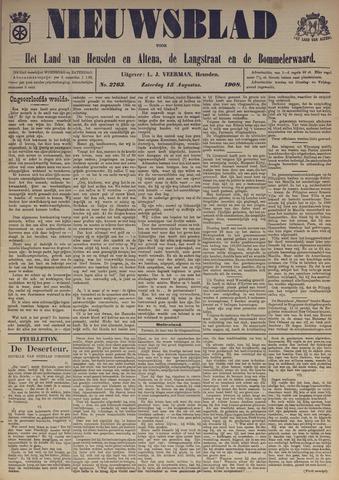 Nieuwsblad het land van Heusden en Altena de Langstraat en de Bommelerwaard 1908-08-15