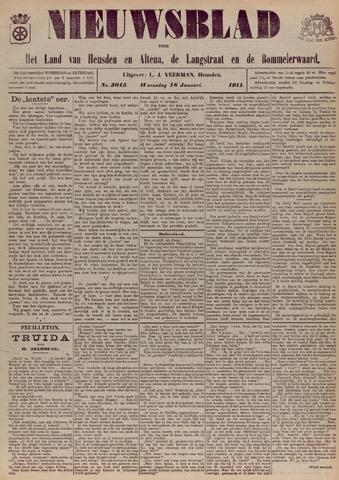 Nieuwsblad het land van Heusden en Altena de Langstraat en de Bommelerwaard 1911-01-18