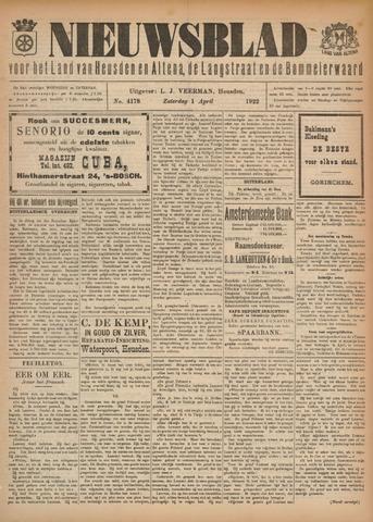 Nieuwsblad het land van Heusden en Altena de Langstraat en de Bommelerwaard 1922-04-01