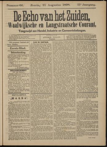 Echo van het Zuiden 1898-08-21