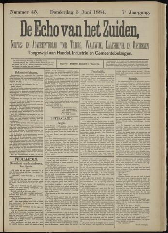 Echo van het Zuiden 1884-06-05