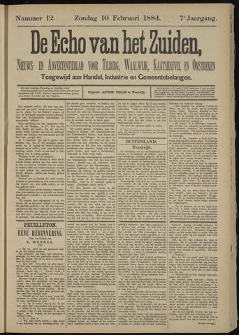 Echo van het Zuiden 1884-02-10