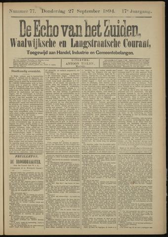 Echo van het Zuiden 1894-09-27