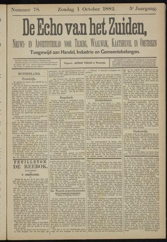 Echo van het Zuiden 1882-10-01