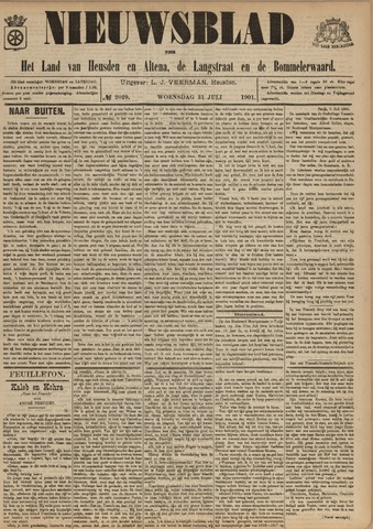 Nieuwsblad het land van Heusden en Altena de Langstraat en de Bommelerwaard 1901-07-31