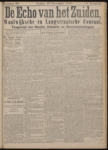 Echo van het Zuiden 1905-11-19