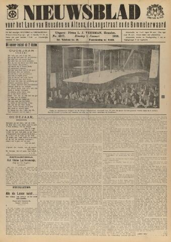 Nieuwsblad het land van Heusden en Altena de Langstraat en de Bommelerwaard 1929-01-01