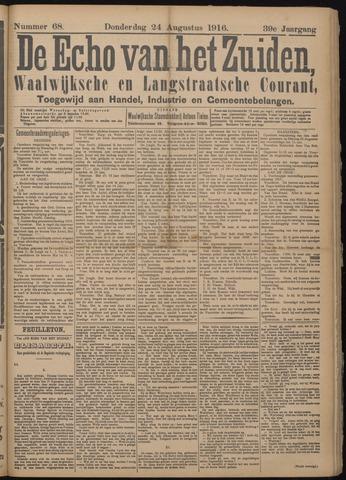 Echo van het Zuiden 1916-08-24
