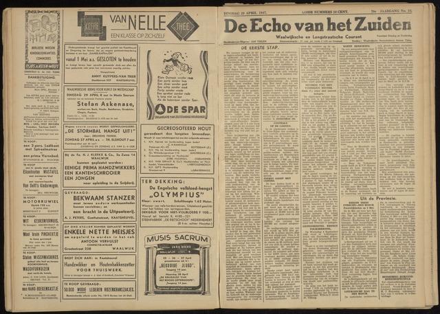 Echo van het Zuiden 1947-04-29